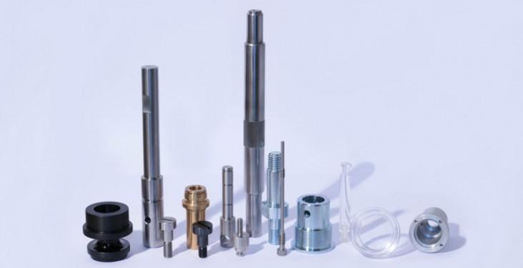 usinage et tournage échantillons plastiques aluminium aciers inox - sw